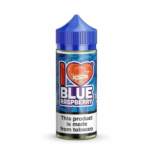 I Love Candy Blue Raspberry by Mad Hatter
