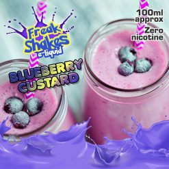 Blueberry Custard by Freak Shakes