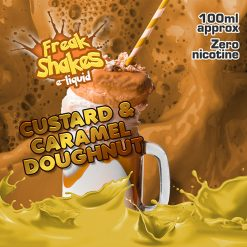 Custard and Caramel Doughnut – Freak Shakes