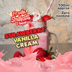 Strawberry Vanilla Cream by Freak Shakes