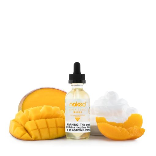 Amazing Mango Original Fruit Eliquids – Naked 100