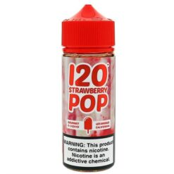 Strawberry Pop by Mad Hatter Juice
