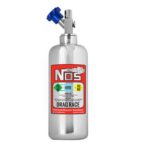 Drag Race Zero Cooling by NOS E-Liquid