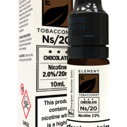 Chocolate Tobacco – Element Nic Salts