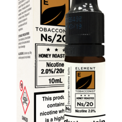 Honey Roasted Tobacco – Element Nic Salts