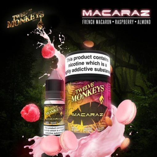 Twelve Monkeys Vapor – Macaraz