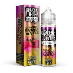 Strawberry Banana Waffle by Double Drip Coil Sauce