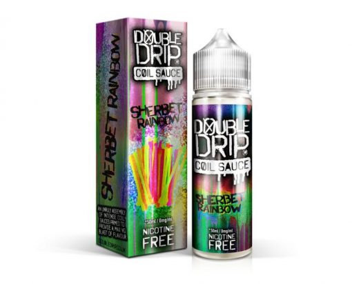 Sherbet Rainbow by Double Drip Coil Sauce