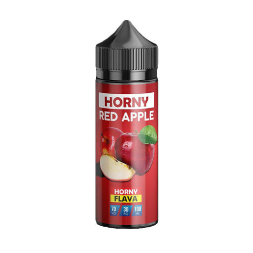 horny red apple 120ml by horny flava