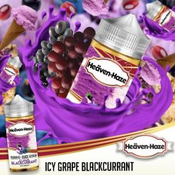 Icy Grape Blackcurrant by Heaven Haze