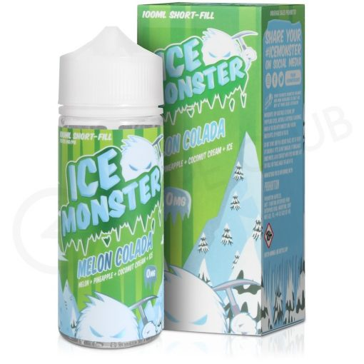 ice monster melon colada by jam monster