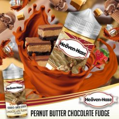 Peanut Butter Chocolate Fudge by Heaven Haze