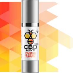Natural CBD Muscle and Joint Active Gel by Hive CBD