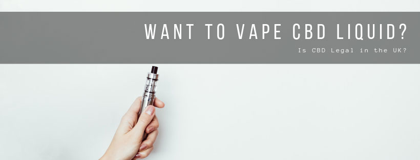Want to vape CBD e-liquid? Leatn more about vaping CBD here